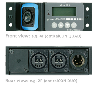 opticalCON powerMONITOR views