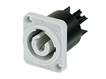 20 A NAC3FCB Power Entry Connector Screw, Cable Mount Pack of 5 powerCON Series Receptacle 250 VAC