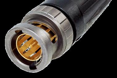 Reartwist UHD BNC Plug 75R 6.3 mm OD-NBNC 75Bjp9X