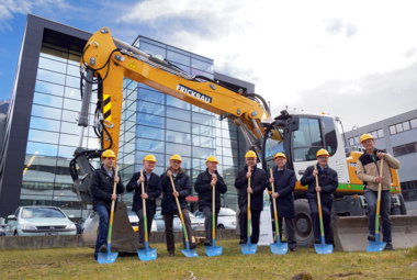 Neutrik Groundbreaking in Schaan